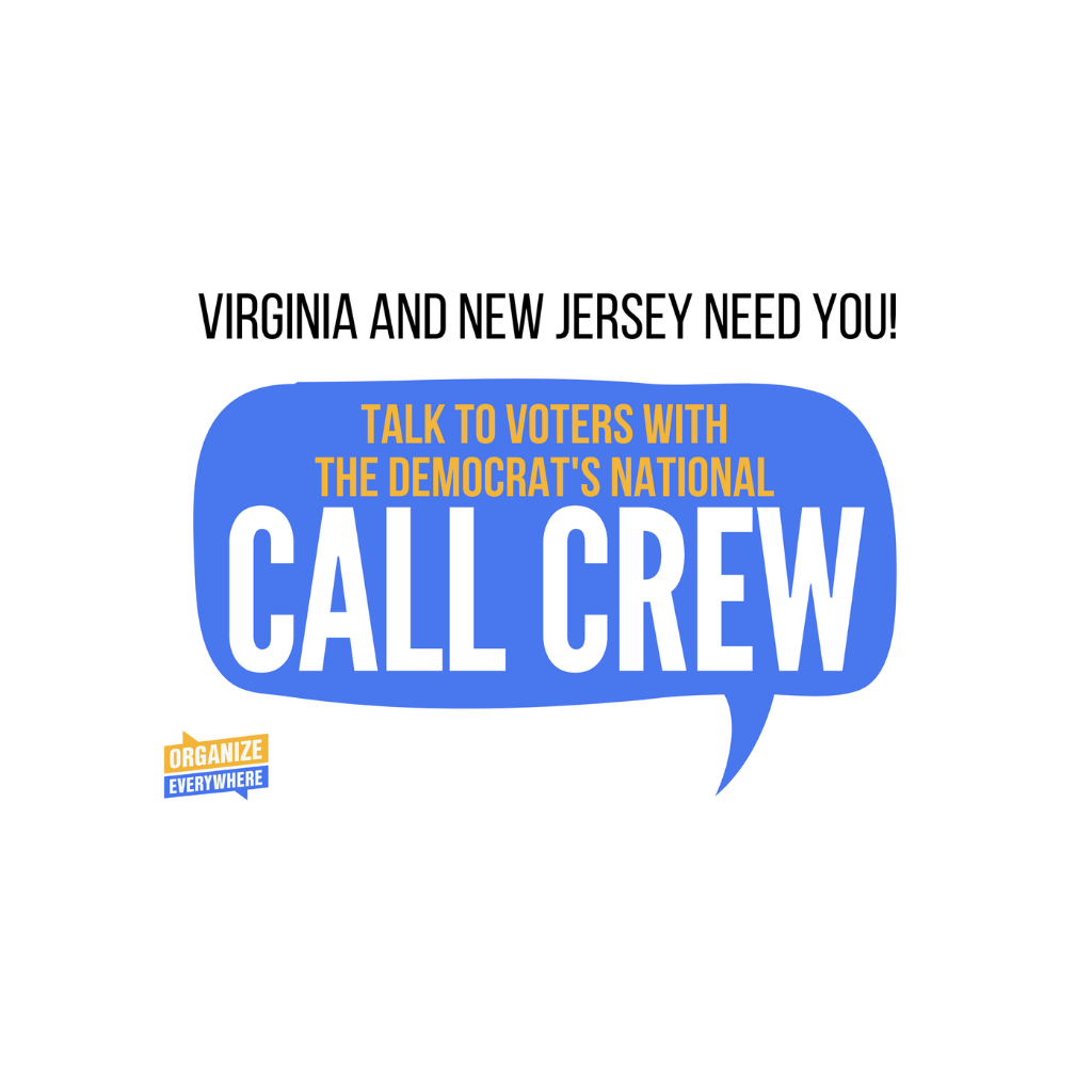 Talk to voters with the Democrats' National Call Crew